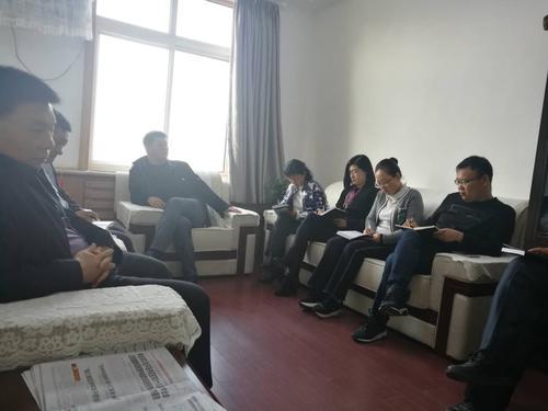 从即日起,班子成员带领包村的机关干部对包村的企业,养老院,幼儿园